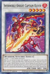 Infernoble Knight Captain Oliver - MP21-EN188 - Common - 1st Edition