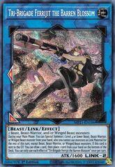 Tri-Brigade Ferrijit the Barren Blossom - MP21-EN196 - Prismatic Secret Rare - 1st Edition