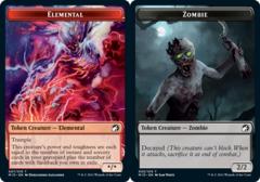 Elemental Token // Zombie Token (005) - Foil