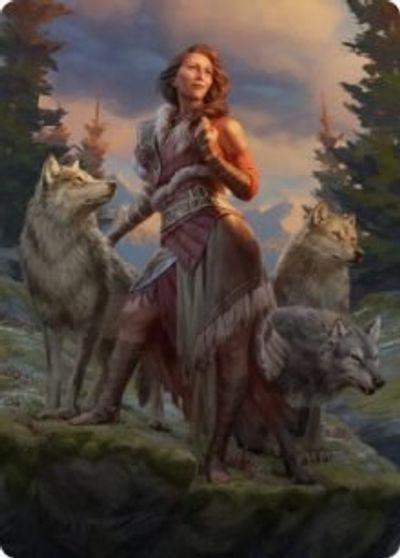 Arlinn, the Packs Hope (1/81) Art Card