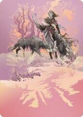 Arlinn, the Pack's Hope (3/81) Art Card