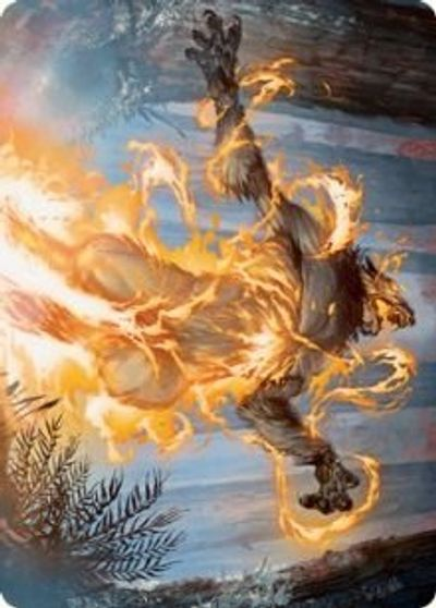 Burn the Accursed Art Card