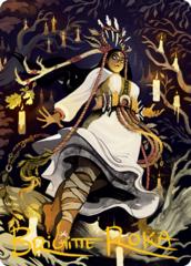 Candlegrove Witch Alt Art Card - Gold-Stamped Signature