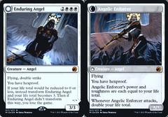 Enduring Angel // Angelic Enforcer - MID Prerelease - Foil