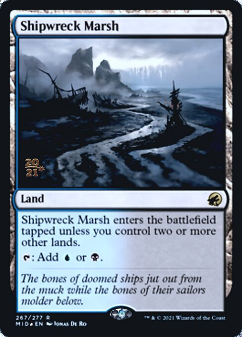 Shipwreck Marsh - Foil - Prerelease Promo