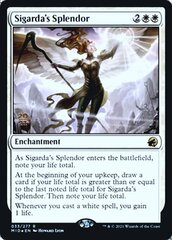 Sigarda's Splendor - Foil - Prerelease Promo
