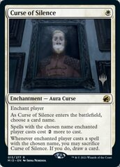 Curse of Silence - Foil - Promo Pack