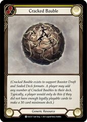 Cracked Bauble - 1st Edition