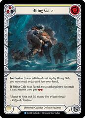 Biting Gale (Yellow) - Rainbow Foil - 1st Edition