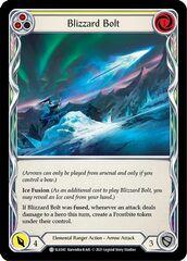 Blizzard Bolt (Yellow) - Rainbow Foil - 1st Edition