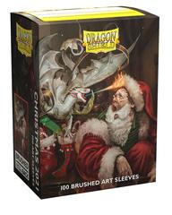 Dragon Shield: Christmas 2021 Brushed Art Card Sleeves (100 ct.)