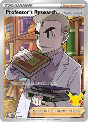 Professor's Research (Full Art) - 024/025 - Ultra Rare