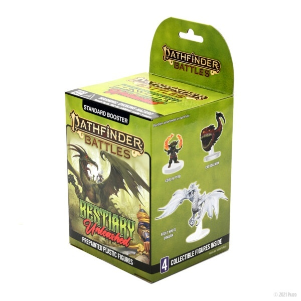 Pathfinder Battles: Bestiary Unleashed Booster Pack
