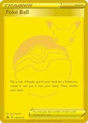 Poke Ball SWSH146 Gold Promo - Celebrations Ultra-Premium Collection