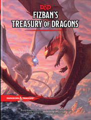 Dungeons and Dragons RPG: Fizban's Treasury of Dragons Hard Cover