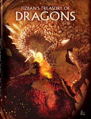 Dungeons and Dragons RPG: Fizban's Treasury of Dragons Hard Cover - Alternate Cover