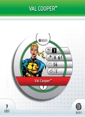 - #B001 Val Cooper