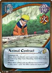 Animal Contract - M-687 - Uncommon - 1st Edition