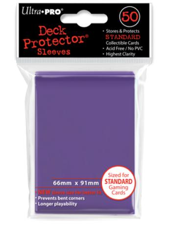 Ultra Pro Standard Size Sleeves - Purple - 50ct