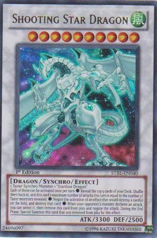 Shooting Star Dragon - STBL-EN040 - Ultra Rare - 1st Edition