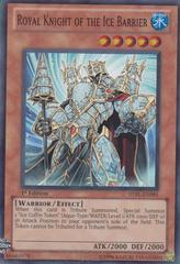 Royal Knight of the Ice Barrier - STBL-EN091 - Super Rare - 1st Edition on Channel Fireball