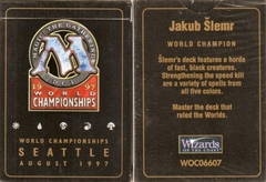 MTG 1997 World Champ Deck: Jakub Slemr