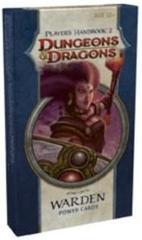 Player's Handbook 2 Warden Power Cards