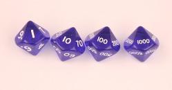 D10,000 translucent blue set