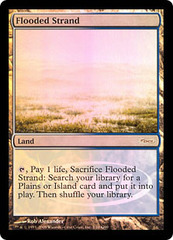Flooded Strand - Foil DCI Judge Promo on Channel Fireball