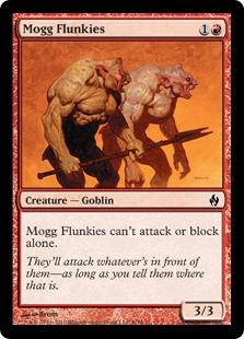 Mogg Flunkies - Foil