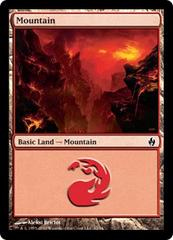 Mountain (32) - Foil on Channel Fireball