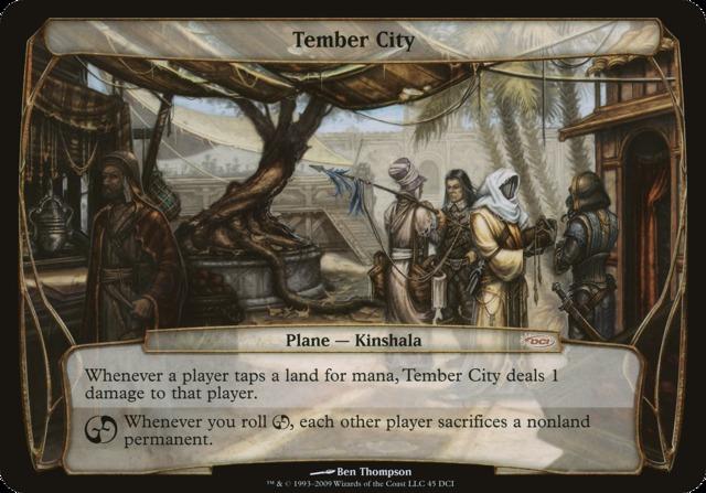 Tember City (Oversized Promo)