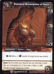 Polished Breastplate of Valor