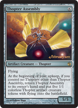 Thopter Assembly - Foil - Launch Promo