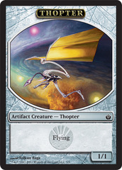Thopter Token on Channel Fireball