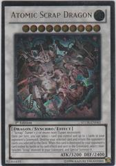 Atomic Scrap Dragon - Ultimate - STOR-EN043 - Ultimate Rare - 1st Edition on Channel Fireball