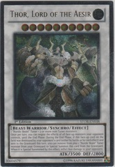 Thor, Lord of the Aesir - STOR-EN038 - Ultimate Rare - 1st Edition