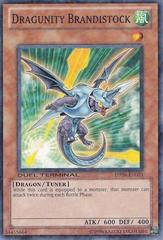 Dragunity Brandistock - DT04-EN023 - Duel Terminal Normal Parallel Rare - 1st Edition