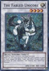 The Fabled Unicore - DT04-EN039 - Duel Terminal Super Parallel Rare - 1st Edition on Channel Fireball