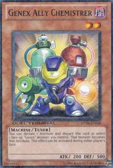 Genex Ally Chemistrer - DT04-EN066 - Duel Terminal Normal Parallel Rare - 1st Edition on Channel Fireball