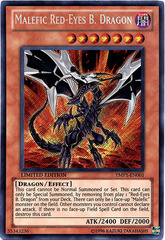 Malefic Red-Eyes B. Dragon - YMP1-EN001 - Secret Rare - Limited Edition