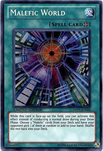 Malefic World - YMP1-EN008 - Secret Rare - Limited Edition