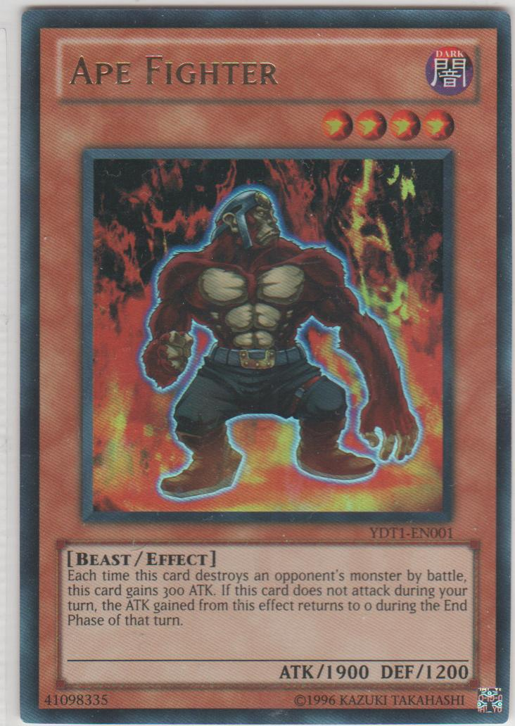 Ape Fighter - YDT1-EN001 - Ultra Rare - Limited Edition