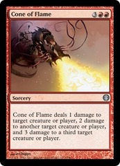 Cone of Flame on Channel Fireball