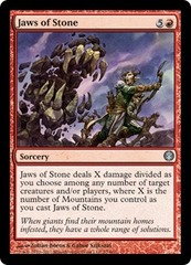 Jaws of Stone on Channel Fireball