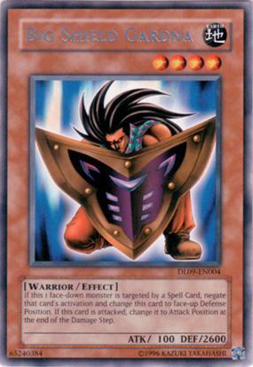 Big Shield Gardna - Silver - DL09-EN004 - Rare - Unlimited Edition