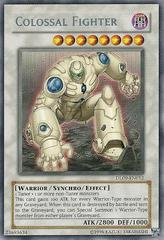 Colossal Fighter - Silver - DL09-EN012 - Rare - Promo Edition on Channel Fireball