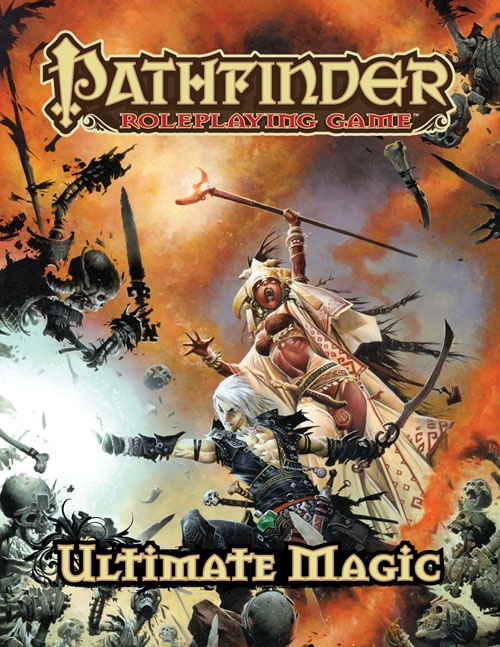 Pathfinder Roleplaying Game: Ultimate Magic Hardcover - RPG Books