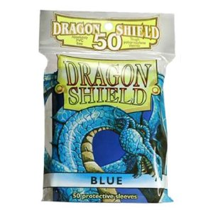 Dragon Shield 50 Count Yugioh Sized Sleeves - Blue