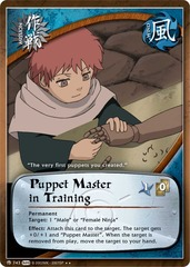 Puppet Master in Training  - M-743 - Rare - 1st Edition
